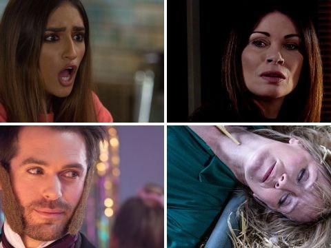 25 soap spoilers: Coronation Street suspicions, EastEnders pregnancy shock, Emmerdale tractor death danger, Hollyoaks abuse