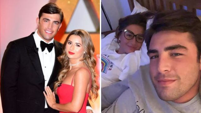 Dani Dyer and Jack Fincham 'spotted making up through the curtains' as they brush off cocaine-gate