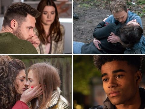 12 soap spoiler pictures: Coronation Street hostage stabbing, EastEnders death danger, Emmerdale comeback, Hollyoaks secret revealed