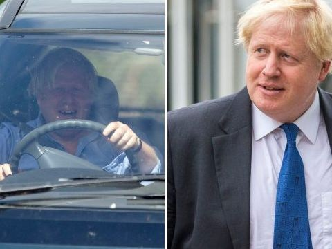 Boris Johnson reveals his thoughts on Brexit by binning them at petrol station
