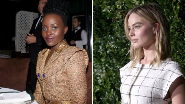 Margot Robbie, Lupita Nyong'o and Kristen Stewart dress to impress at pre-Oscar party