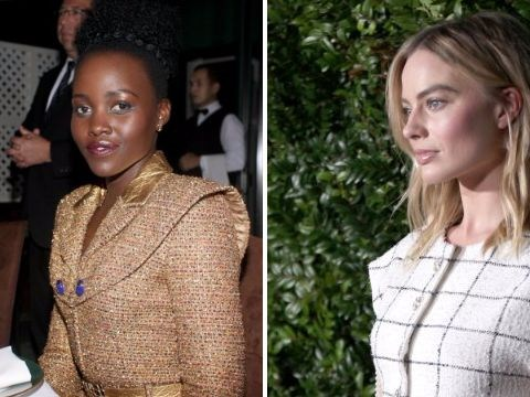 Margot Robbie, Lupita Nyong'o and Kristen Stewart dress to impress at pre-Oscar party