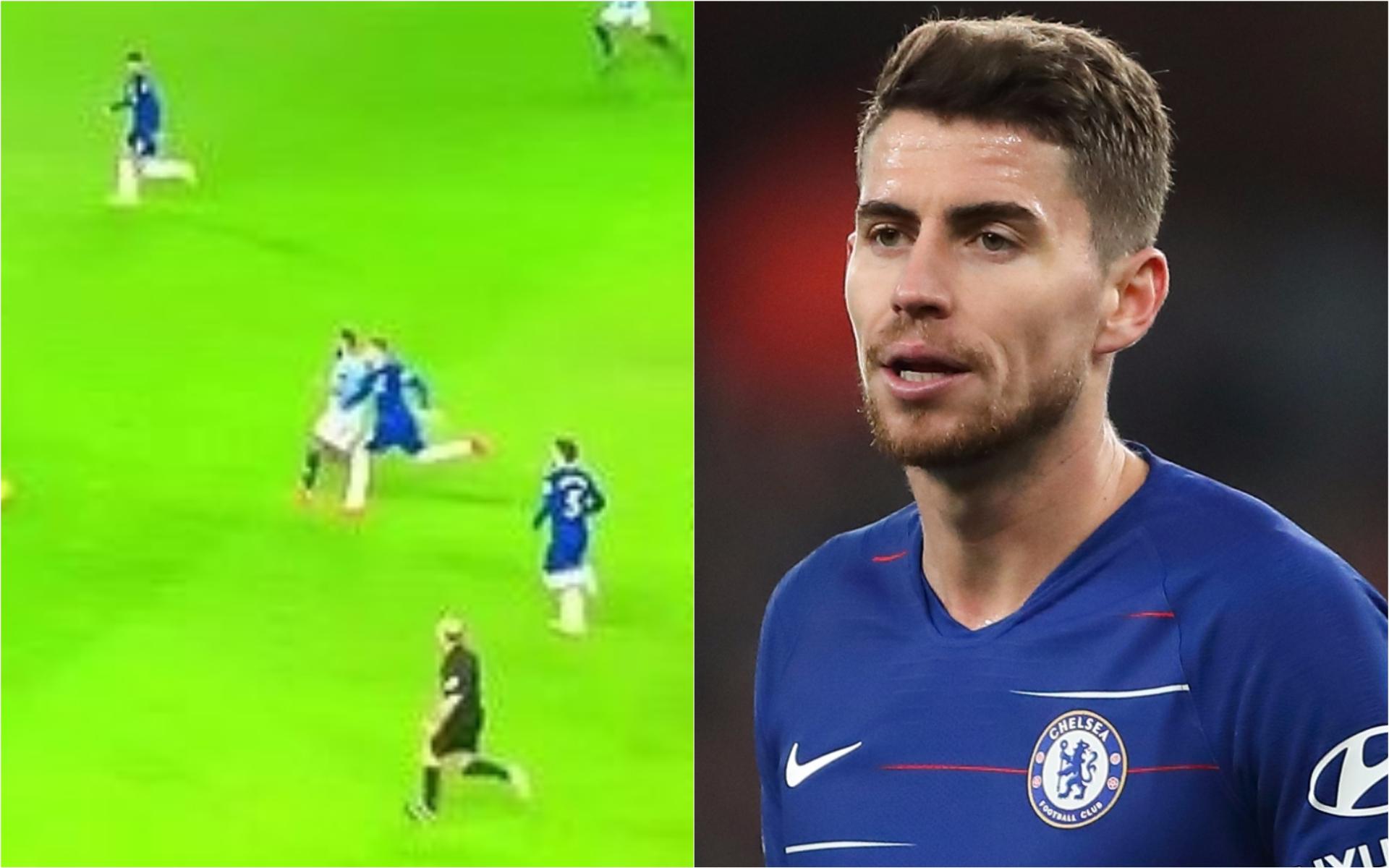 Jorginho shows shocking lack of effort during Chelsea's defeat to Man City