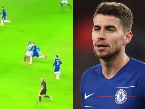 Jorginho shows shocking lack of effort during Chelsea's defeat to Man City