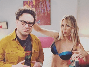 The Big Bang Theory's Kaley Cuoco confirms she 'spends entire scene in lingerie' in upcoming episode