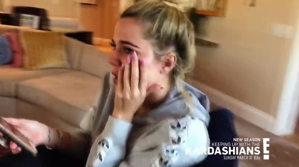 Khloe Kardashian tears up over 'demolished relationship' amid Tristan Thompson rumours