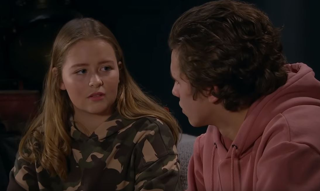 Liv opens up about her asexuality to Jacob on Emmerdale
