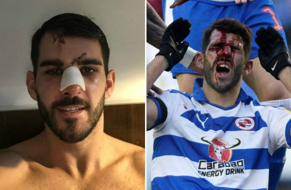Reading striker Nelson Oliveira wants the FA to investigate Tyrone Mings stamp