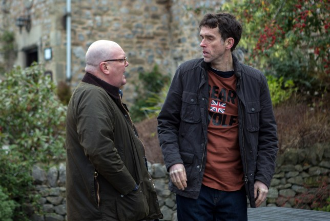 Paddy confronts Marlon over Bear Wolf in Emmerdale
