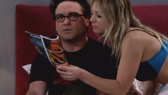 0994bb3aeb0df Big Bang Theory's Penny strips off to seduce Leonard | Metro News