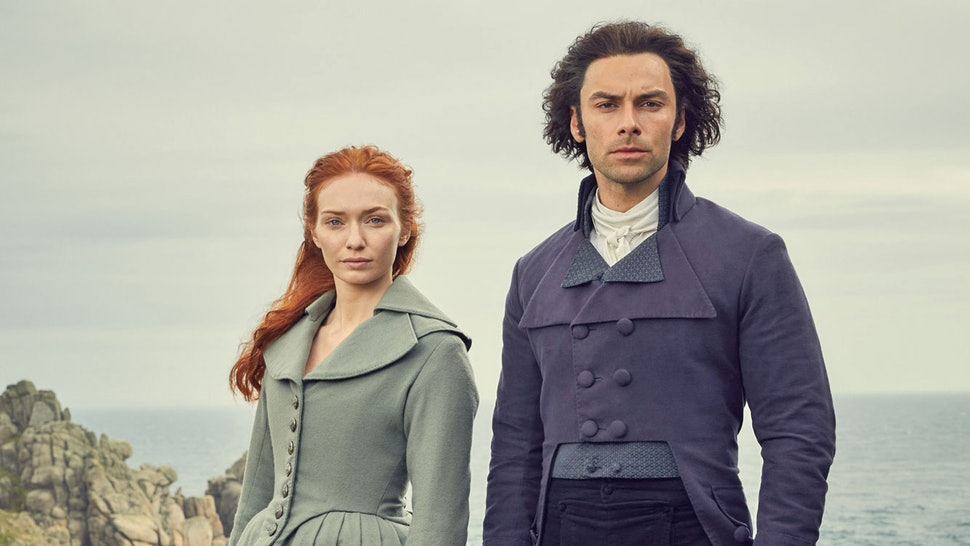 Poldark cast celebrate as filming on final series officially ends
