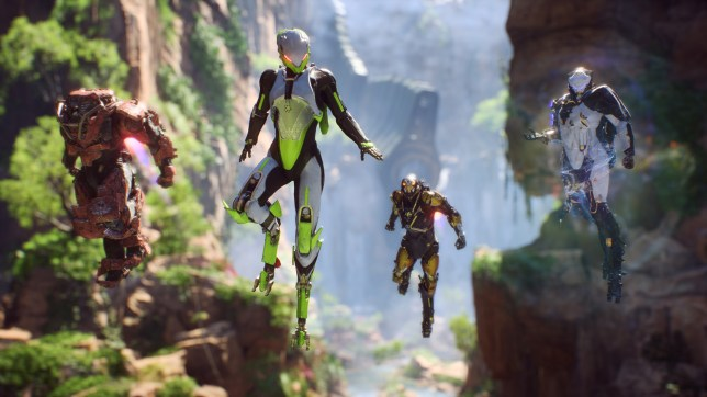 Anthem (PC) - at least the flying's good