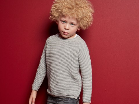 Mum reveals how her five-year-old with albinism became a Primark model thanks to a Facebook post