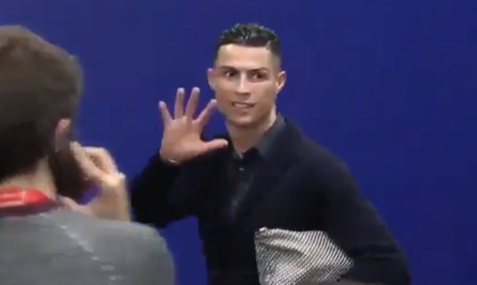 Cristiano Ronaldo angrily taunts Atletico Madrid AGAIN after Juventus defeat