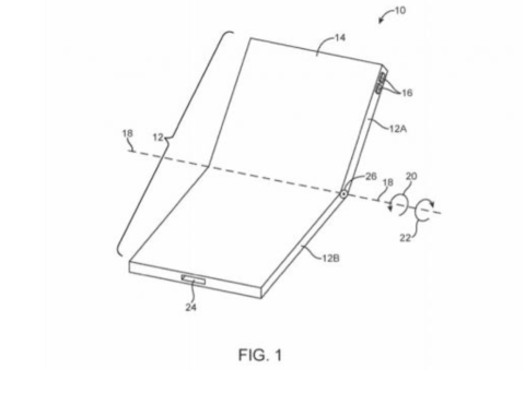 It looks like Apple is planning a foldable iPhone to compete with 'Samsung Galaxy X Fold'