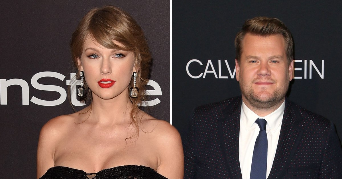 Taylor Swift could be next Carpool Karaoke star as James Corden drops massive hint online