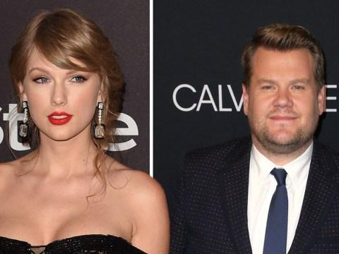 Taylor Swift could be next Carpool Karaoke star as James Corden drops massive hint online