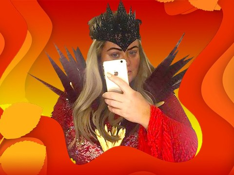 Gemma Collins is channelling her inner evil queen for Dancing On Ice performance and we are loving it