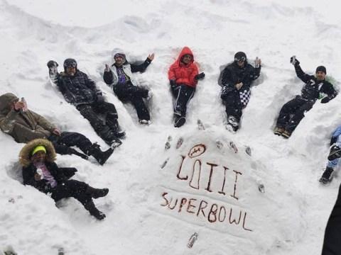 Nick Jonas and Priyanka Chopra get comfortable in snow ahead of Super Bowl