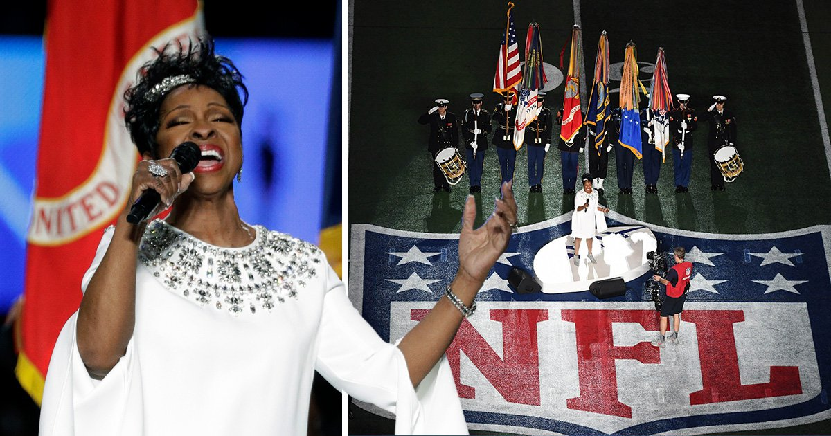 Gladys Knight delivers flawless national anthem at the Super Bowl but keeps bookies sweating