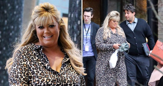 2034b8a51a90 Gemma Collins leaves diva reputation behind as she carries her own bags  after 'I'm a f***ing star' rant