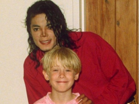 Michael Jackson giggles and awkwardly squirms as he's asked about Macaulay Culkin and child molestation allegations