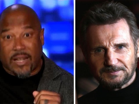 John Barnes claims Liam Neeson 'deserves a medal' – before asking why 'white supremacist' Churchill hasn't received same treatment