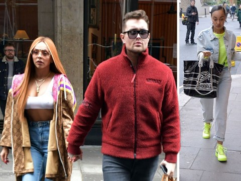 Jesy Nelson and Leigh-Anne Pinnock look ready for business as they put their game faces on for music meeting