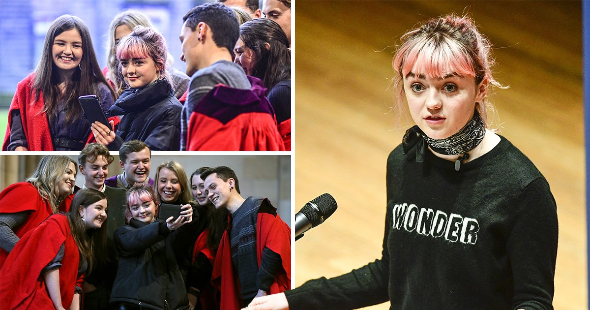 Game Of Thrones' Maisie Williams assumes final form as she makes foray into tech world