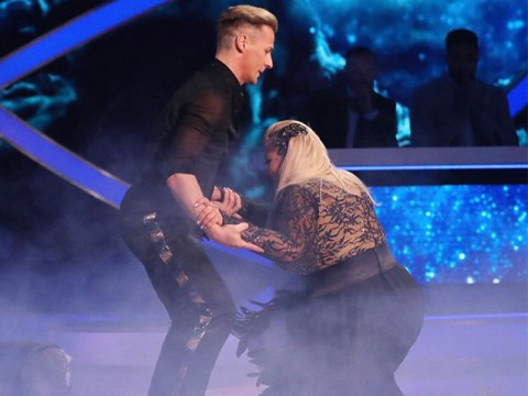 Gemma Collins says knees will take six months to recover following Dancing On Ice fall