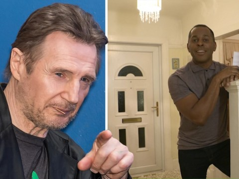 Good Morning Britain's Andi Peters locks his door 'in case Liam Neeson's in the area' leaving viewers in hysterics