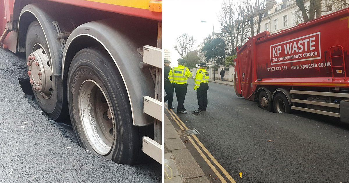 Kensington sinkhole causes mayhem in one of UK's richest areas
