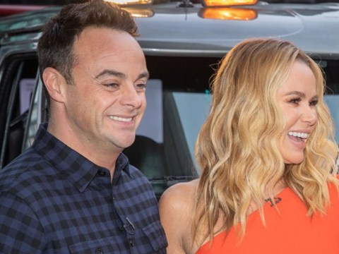 Ant McPartlin and Amanda Holden show united front at Britain's Got Talent audition a year after 'blazing row'