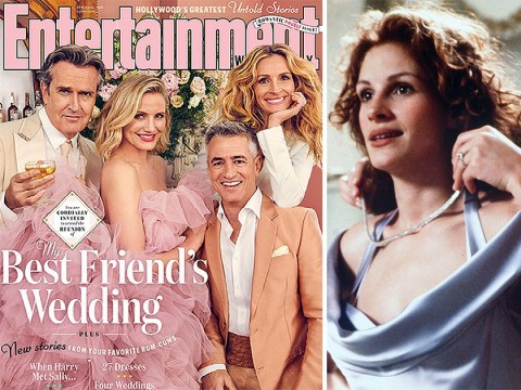 My Best Friend's Wedding cast reunite after 23 years and reveal original ending that audiences hated