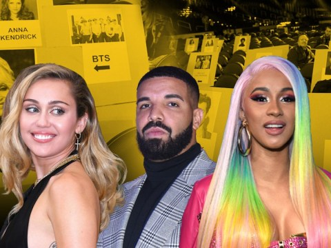 Who is sitting next to who at the 2019 Grammy Awards? The seating plan reveals all