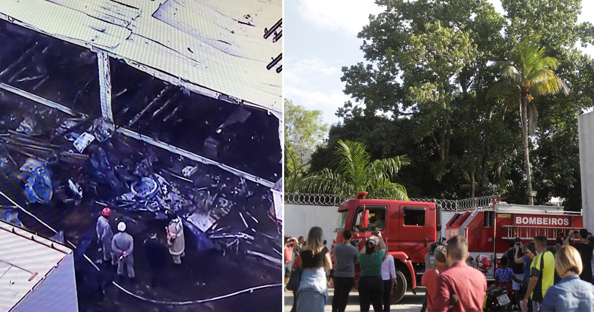Ten dead after fire breaks out in dorm for young football players