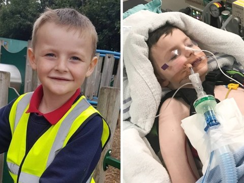 Boy, 6, left in coma after being sent home from school with headache