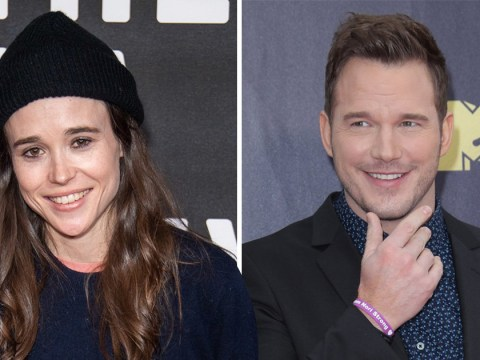 Ellen Page calls out Chris Pratt for attending 'infamously anti-LGBTQ church'