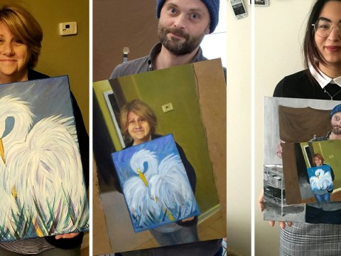 The internet is creating optical illusion paintings in paintings and we can't look away
