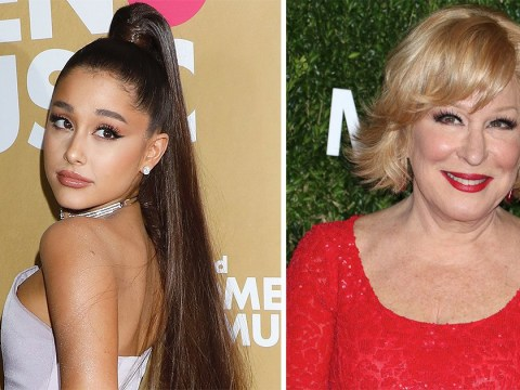 Ariana Grande just invited Bette Midler over for a 'low-key thing' after Grammys row