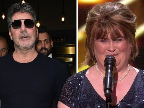 Simon Cowell admits being 'disgusting' to Susan Boyle in her first audition as she smashes America's Got Talent: Champions performance