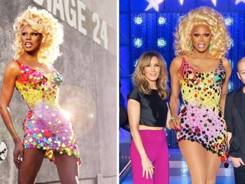 RuPaul wore the same dress 20 years apart and hasn't aged a day