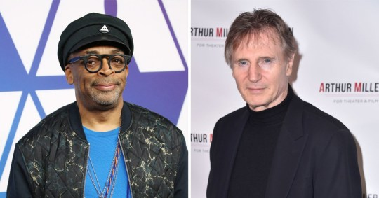 Spike Lee would not hire Liam Neeson for his films after rape revenge remarks