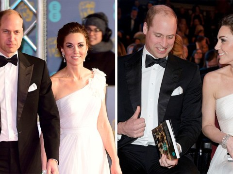 Duke and Duchess of Cambridge steal red carpet at Baftas