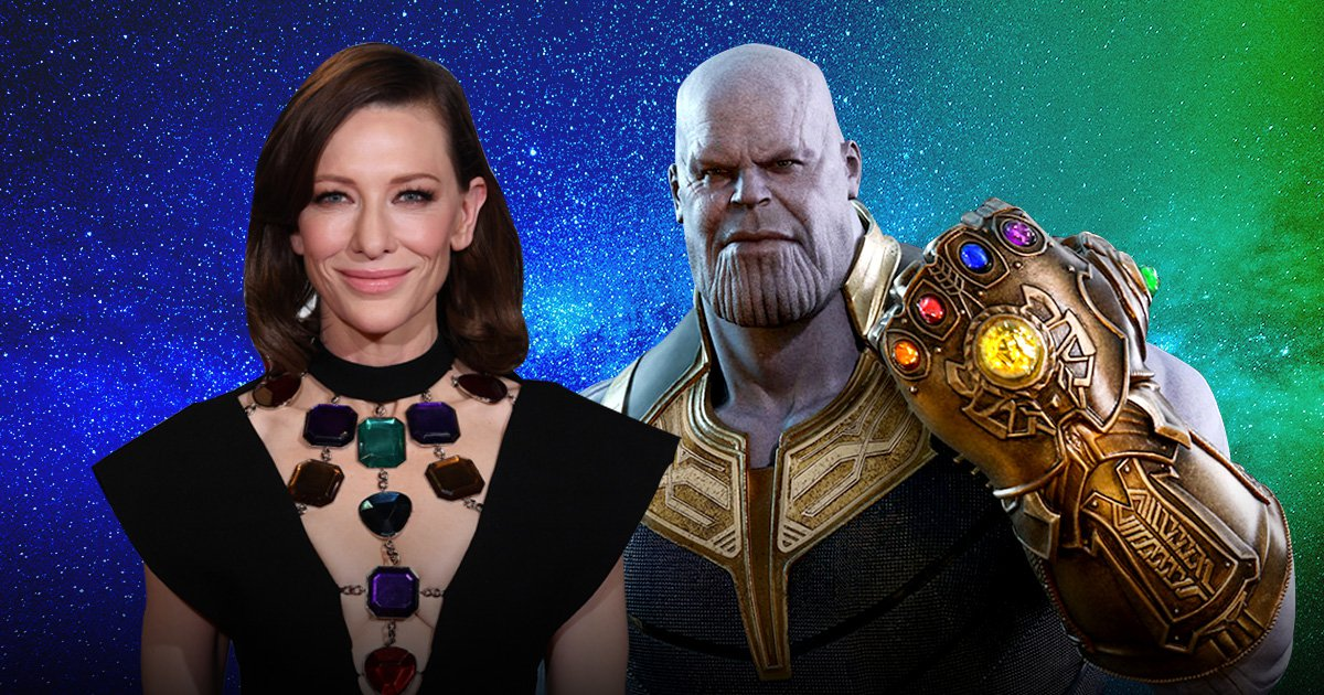Cate Blanchett channels her inner Thanos as she rocks Infinity Stone themed dress at the Baftas