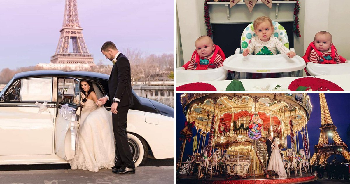 Whirlwind couple bought a house in two weeks, got engaged in eight and had three kids in nine months