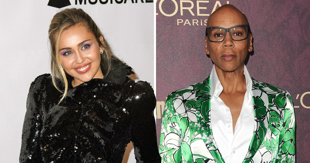 Miley Cyrus is a guest judge on RuPaul's Drag Race