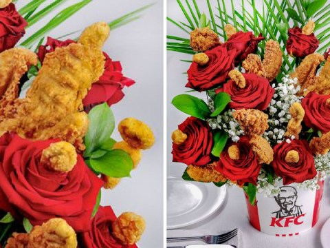 You can now get your Valentine a KFC 'Bouquet de Poulet'