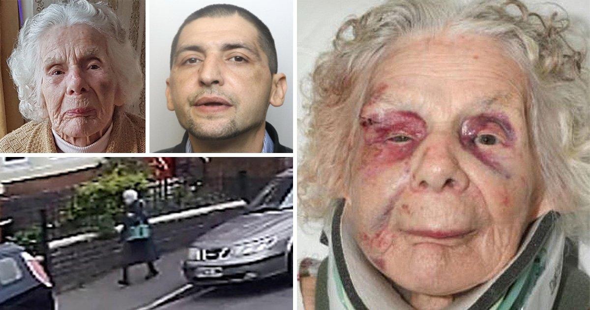 Mugger jailed for killing Holocaust survivor, 100, for £20 of heroin