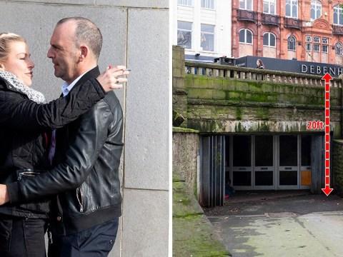 Man hugs girlfriend he almost killed in drunken row as he's spared jail